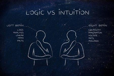 intuición vs lógica