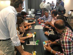 participación dinámica lego serious play