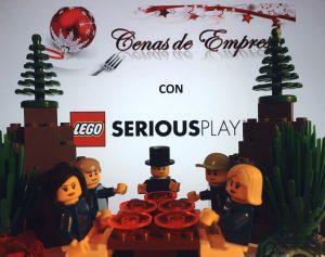 cenas de empresa con lego serious play